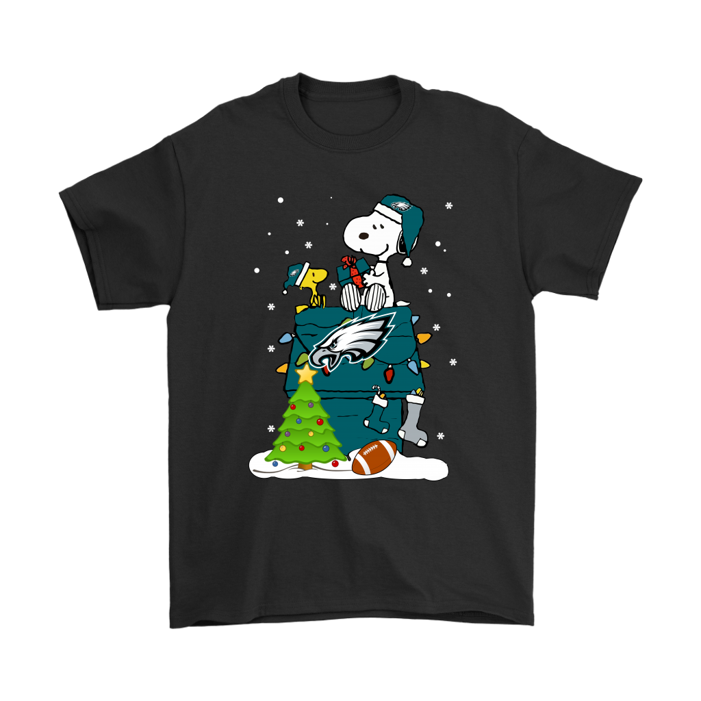 the latest 6bb78 17aff A Happy Christmas With Philadelphia Eagles Snoopy Shirts