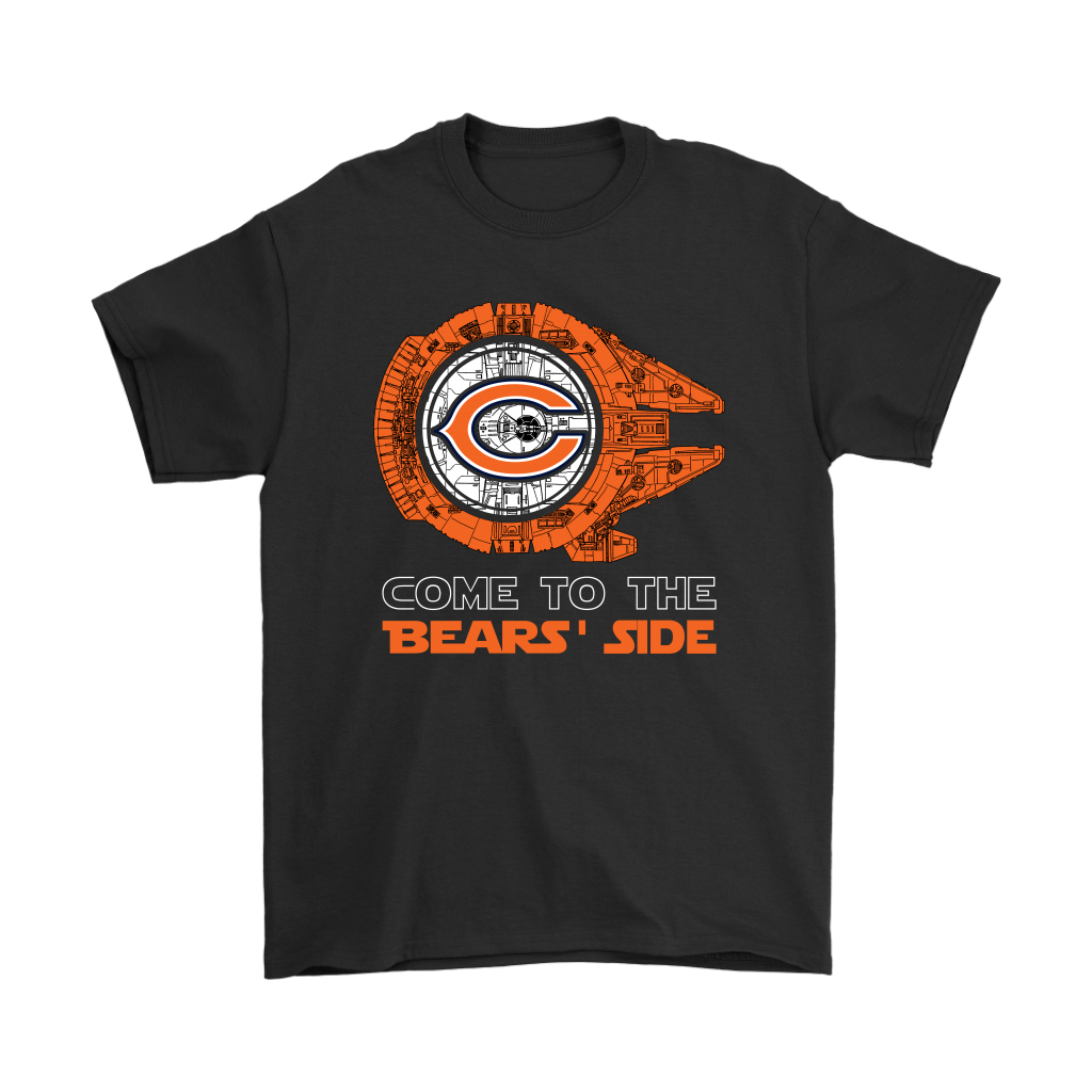 online store 62aa4 caee5 Come To The Bears Side Star Wars X Chicago Bears Shirts