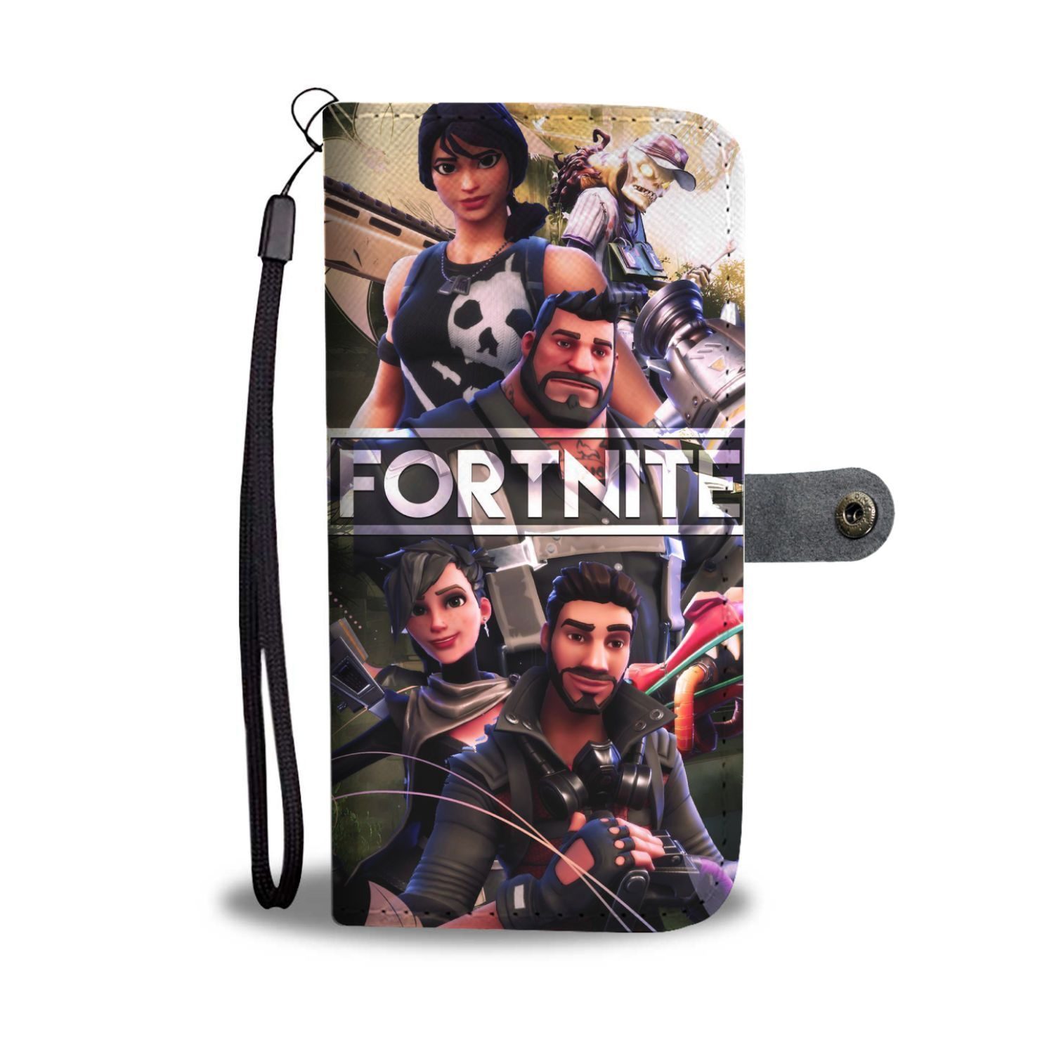 ad77a33e3 Fortnite Battle Royale Victory Royale Wallet Phone Case - Teeqq Store