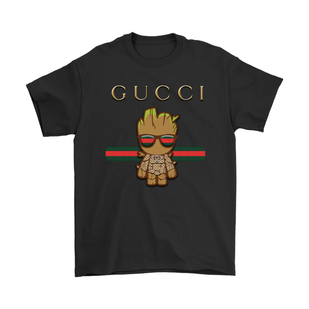 886b72d1 Gucci Guardians Of The Galaxy Baby Groot Shirts - TeexTee Store