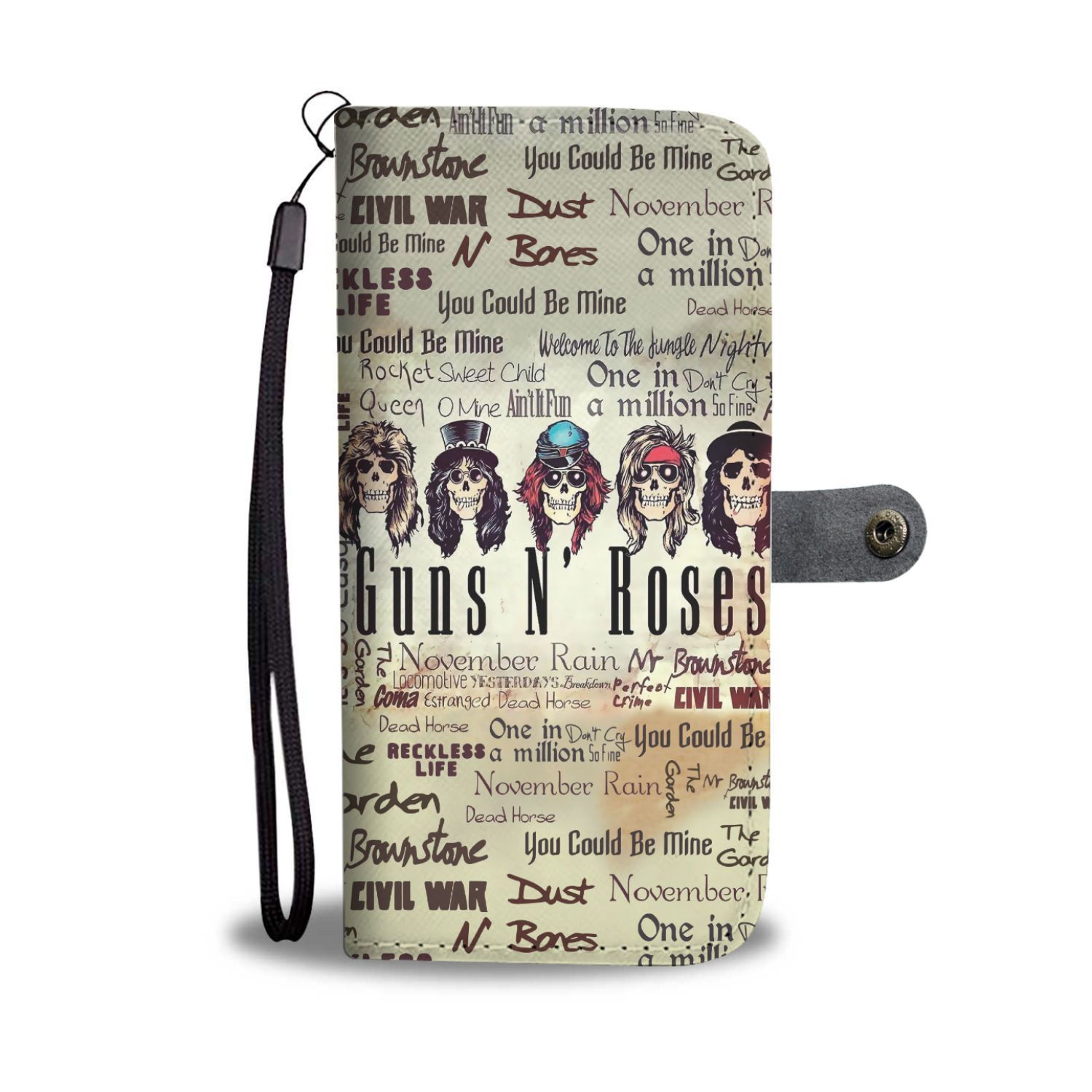 Guns N Roses Use Your Illusion Wallet Phone Case