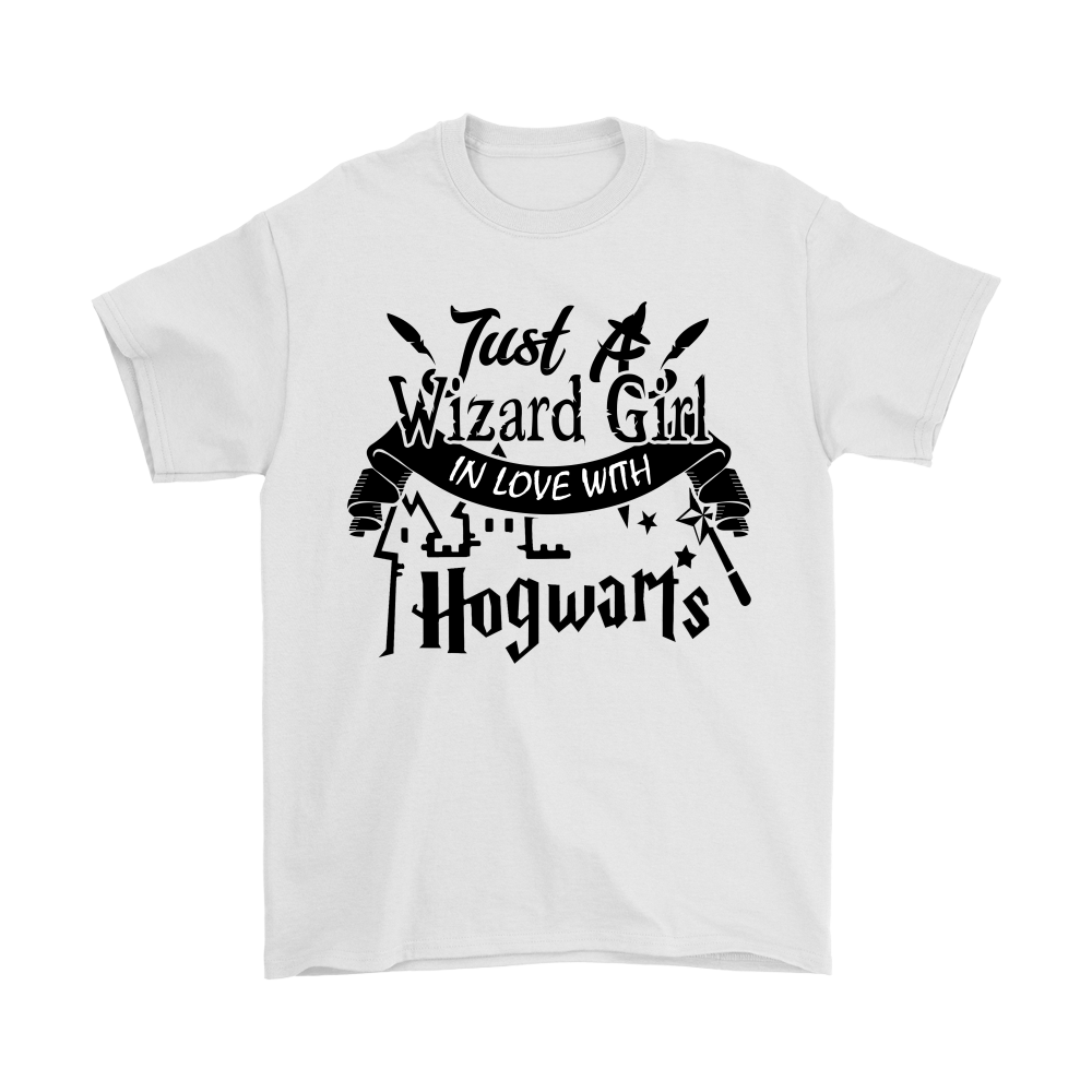 6524a649 Just A Wizard Girl In Love With Hogwarts Harry Potter Shirts - Teeqq ...