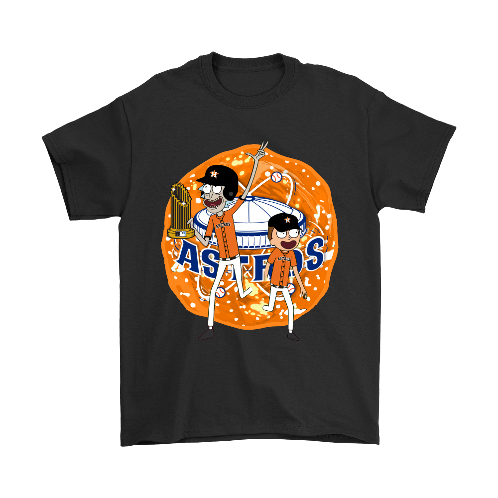 check out f113e 87a0e Rick And Morty Houston Astros World Series Champions Shirts
