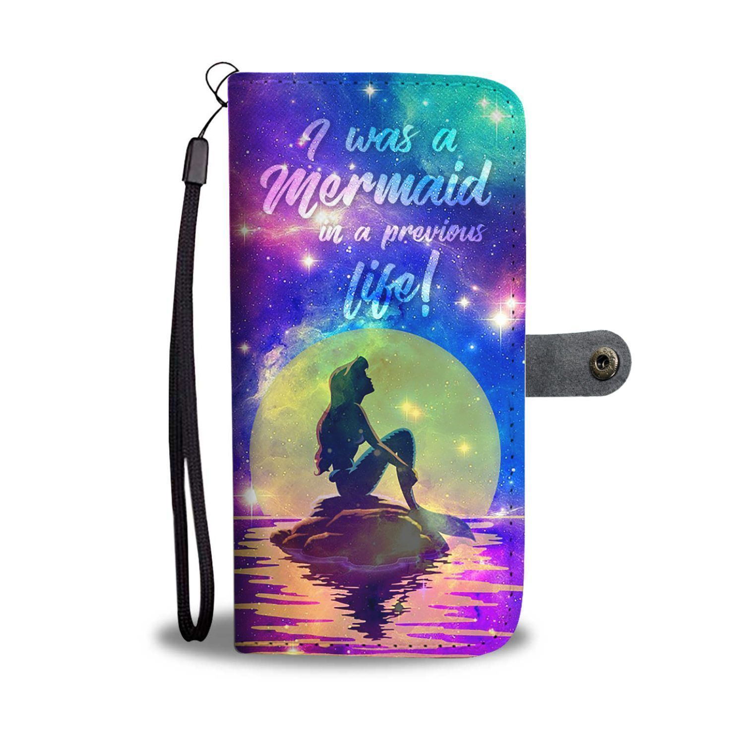 pick up 23808 afabc The Little Mermaid I Was A Mermaid Wallet Phone Case