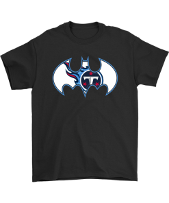 great fit b77a4 29b17 We Are The Tennessee Titans Batman NFL Mashup Shirts